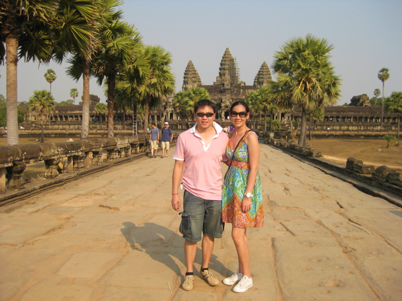 ฉากรัก … เสียมเรียบ – Cambodia