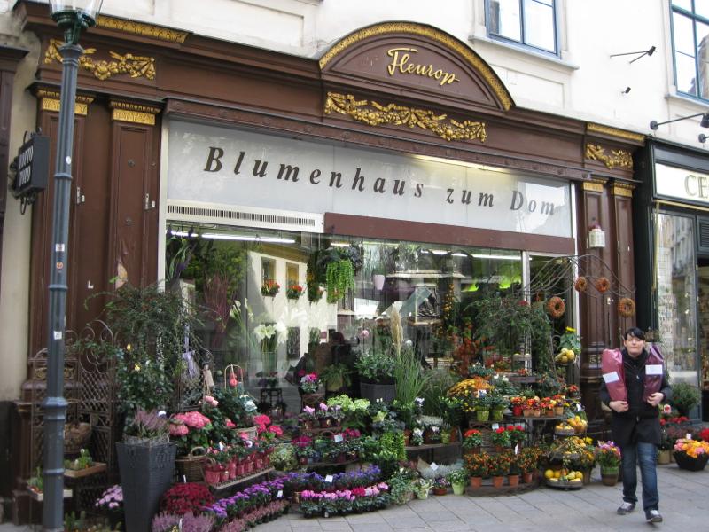 ร้านดอกไม้ที่ Kartner Street
