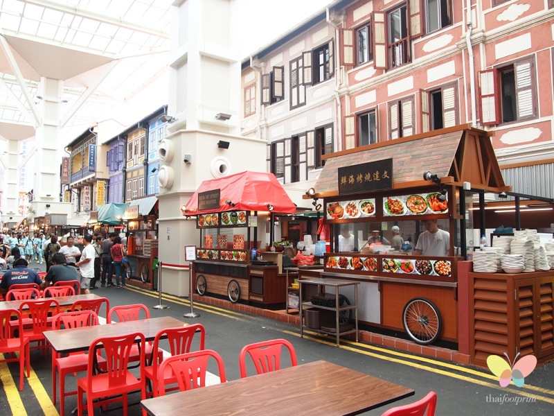 Chinatown Food Street Review – Singapore