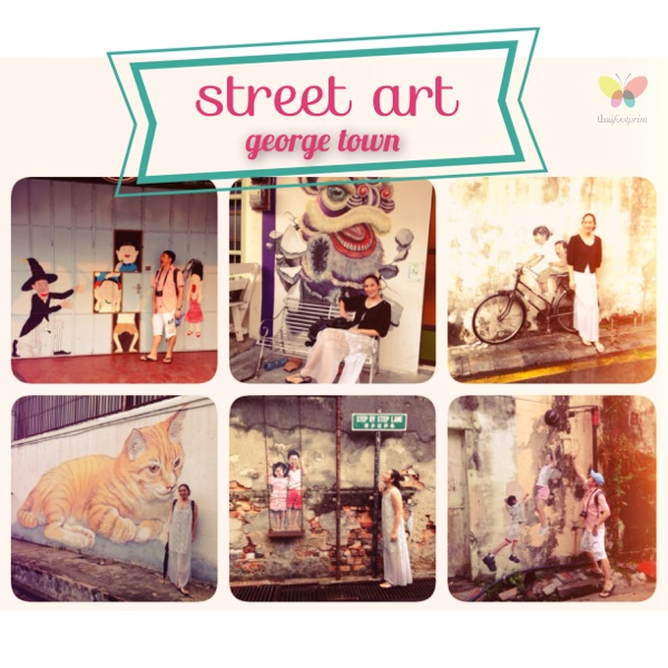 Street Arts in Georgetown – Penang