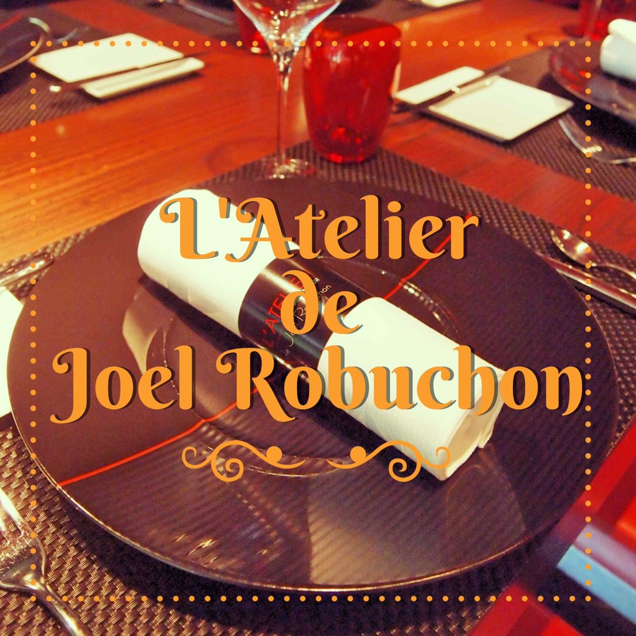 L'Atelier de Joel Robuchon ♥♥♥♥♥ Singapore
