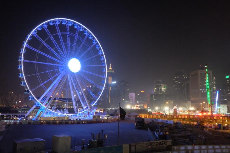 ดวงตาสวรรค์ Observation Wheel – Hong Kong