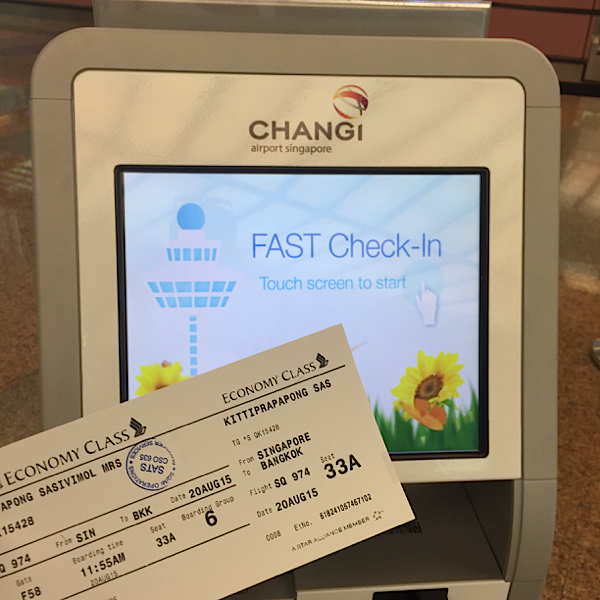 Fast Check In_Singapore Airlines
