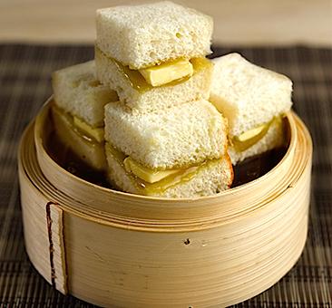 Kaya butter steamed bread_yakun.com
