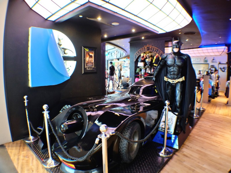 DC Super Heroes Cafe – Singapore