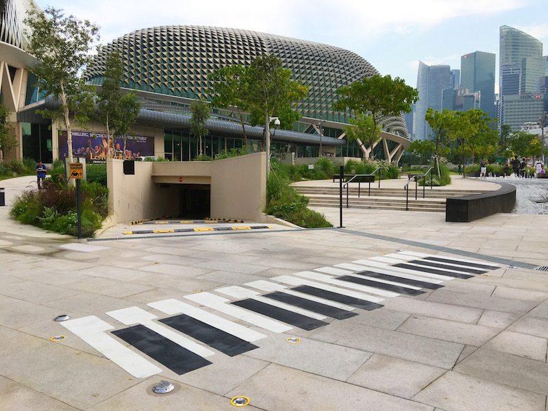Green & Design : Esplanade Park สิงคโปร์