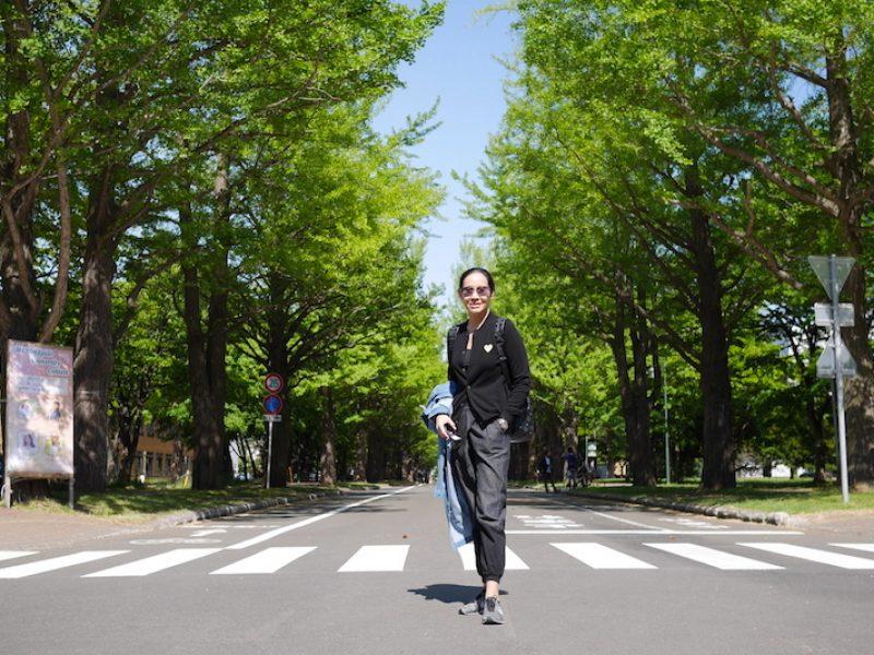 Hokkaido University โอเอซิสแห่งซัปโปโร – ซัปโปโร ฮอกไกโด