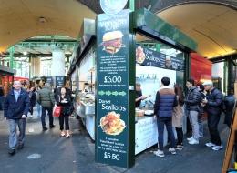 Borough Market ดิสโก้เธคกลางแจ้งของนักกินทั่วโลก