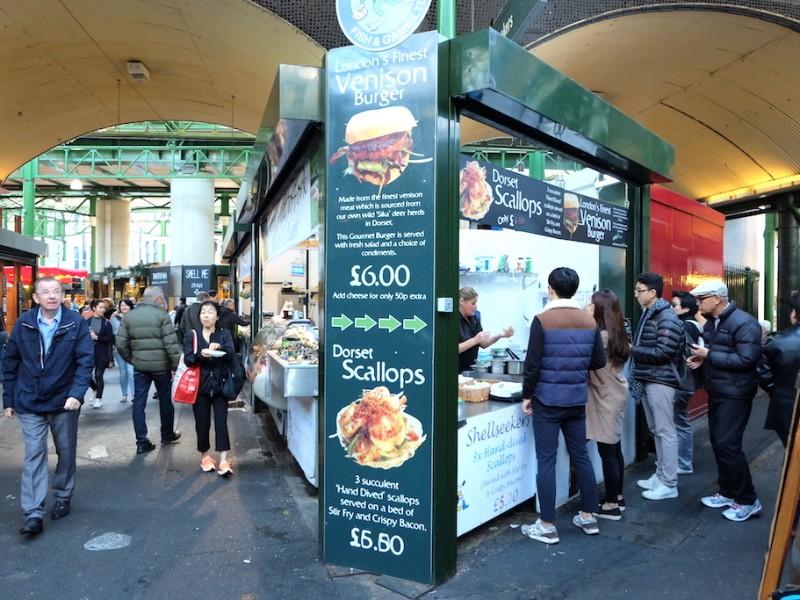 Borough Market ดิสโก้เธคกลางแจ้งของนักกินทั่วโลก – ลอนดอน อังกฤษ