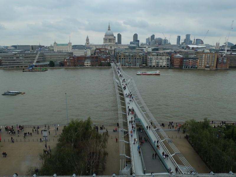 ไทม์แมชชีนวอล์ค … จาก St. Paul สู่ Tate Modern – ลอนดอน อังกฤษ