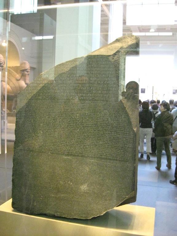 Rosetta Stone @British Museum (8)