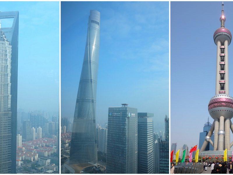 เย้ยฟ้าในเซี่ยงไฮ้ ตึกสูงในย่านผู่ตง – เซี่ยงไฮ้
