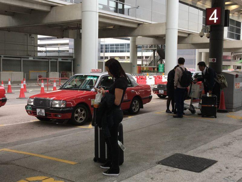 ราคาค่าแท็กซี่จากสนามบินเข้าตัวเมืองฮ่องกง