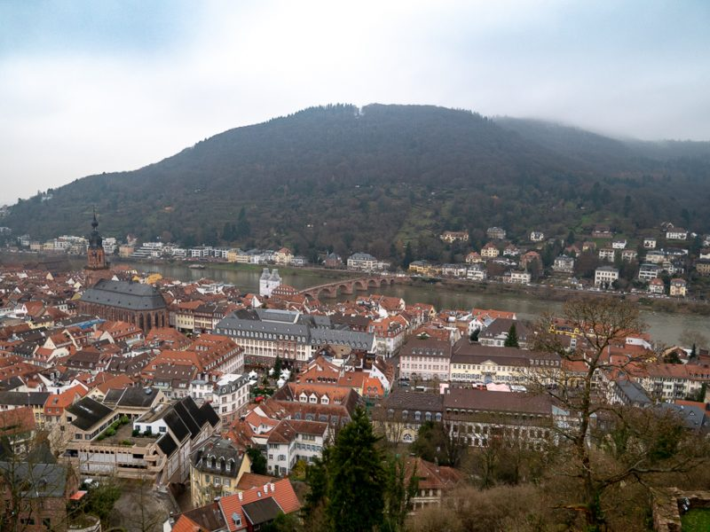Heidelberg คลังความรู้ คู่ ปราสาทยุคกลาง