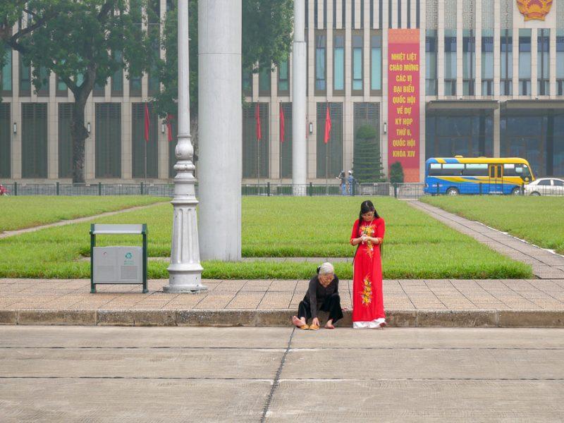 Hanoi เมื่อเดือนก่อน …