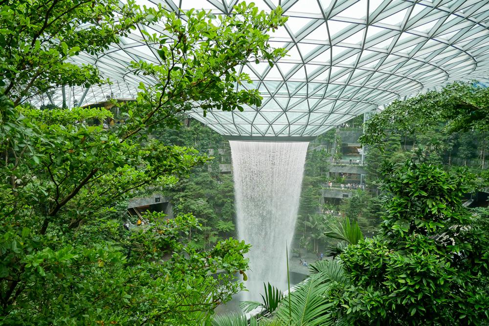 7 จุดเช็คอินเพชรเม็ดงาม Jewel Changi – สิงคโปร์