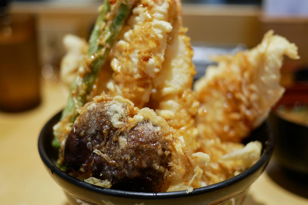 Tendon Ginza Itsuki ✪✪✪ ข้าวหน้าเทมปุระคิวเฟื้อย – สิงคโปร์