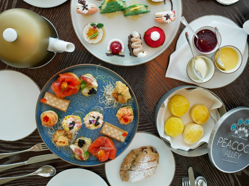 Peacock Alley Afternoon Tea – กรุงเทพ